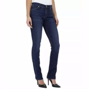 7 For All Mankind Straight Leg Jeans Dark Wash 26